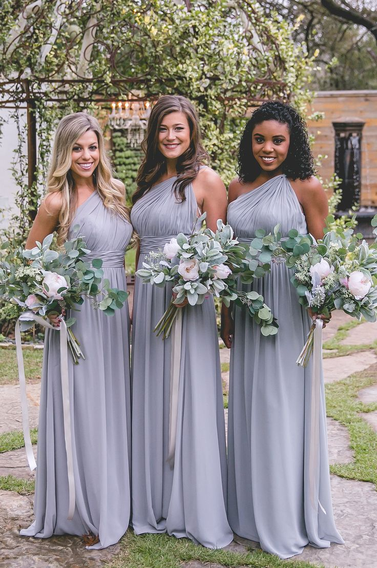 17 Best Ideas About One Shoulder Bridesmaid Dresses On