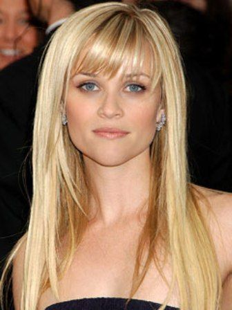Reese Witherspoon Hair Every time I see this picture, it makes me want my bangs back!!