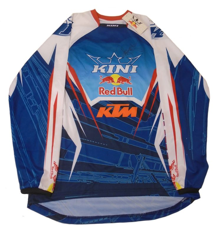 Ryan Dungey Autographed Red Bull KTM Kini Motocross / Supercross Jersey, Proof…