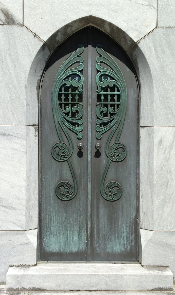 Detailed Doors to Drool Over ♅ art photographs of door knockers hardware \u0026 portals - Bonaventure Cemetery Savannah GA & 1401 best Knock Before Entering images on Pinterest | French doors ...