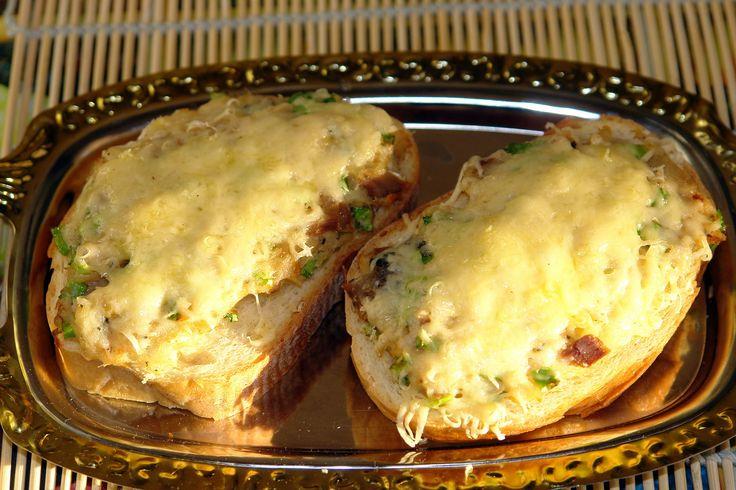 Горячие бутерброды с налимом