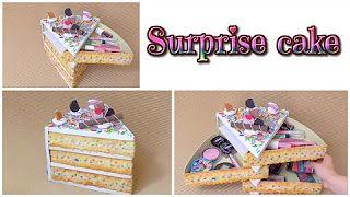 Video tutorial to make a swinging cake shaped drawer set