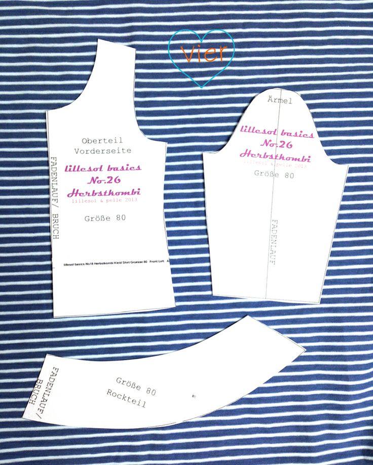 Lillesol und Pelle: 7. Türchen - Anleitung + kostenloses Schnittmuster für Puppenkleidung