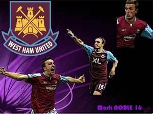 Pictures of West Ham Players- Mark Noble