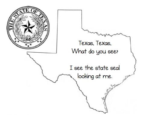 texas regions coloring pages - photo#15