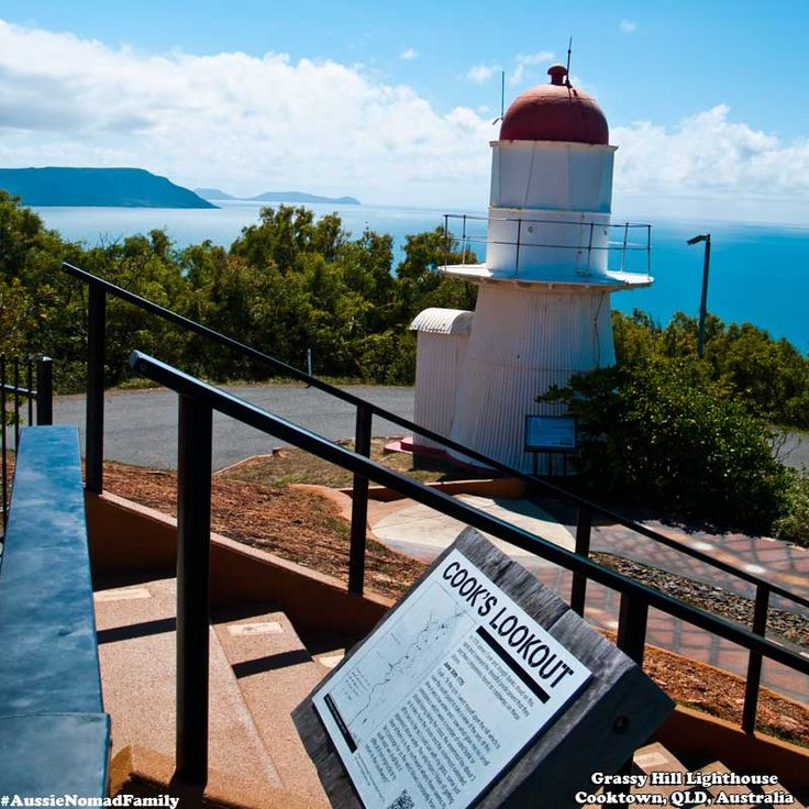 Grassy Hill Light House - Cooktown, Queensland, Australia.
