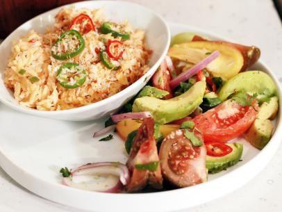 Jalapeno Popper Orzo Mac-n-Cheese Recipe | Rachael Ray | Food Network