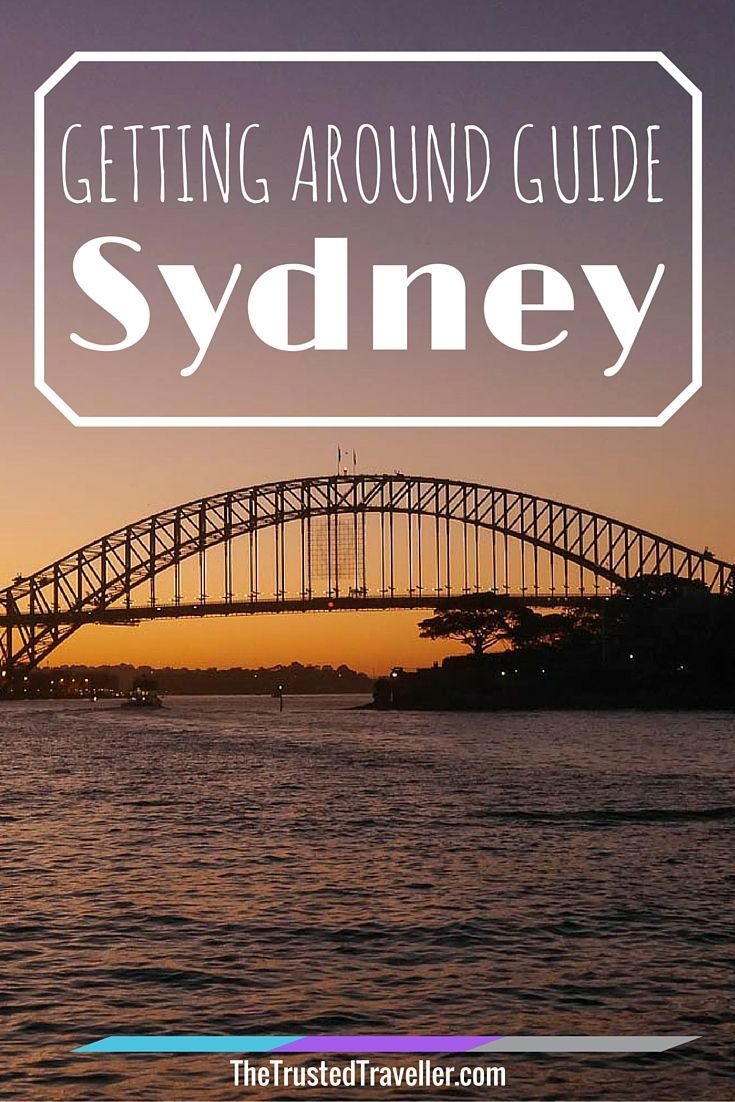 Getting Around Guide to Sydney - The Trusted Traveller