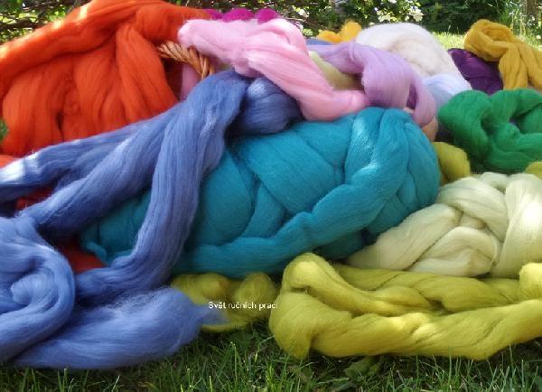 Mega vlna - gigantické pletení