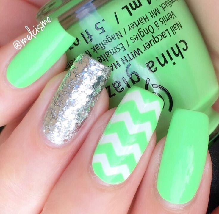 Mejores 655 imágenes de Nail Art by me en Pinterest | Ps, Arte de ...