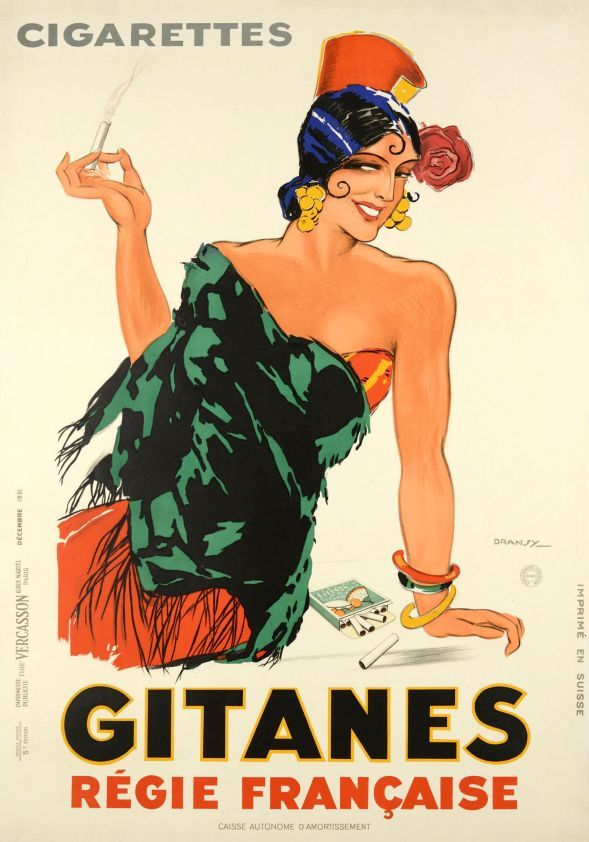 609 best images about vintage cigarette posters on Pinterest ...