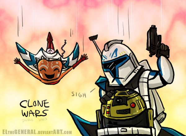Rex Ahsoka Goldie CLONE WARS by ElTheGeneral on DeviantArt