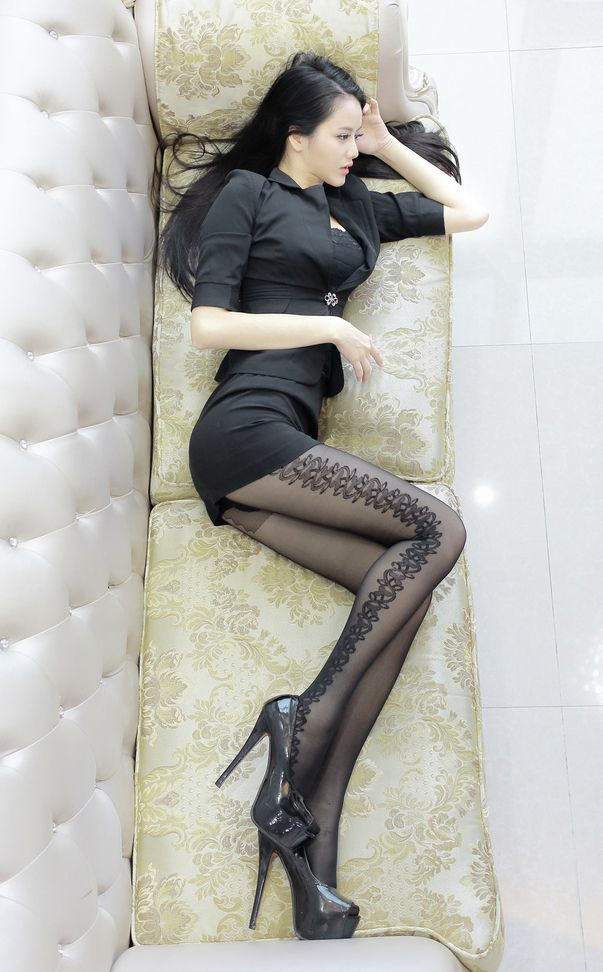 Lingerie And Stockings Asian Teens 10