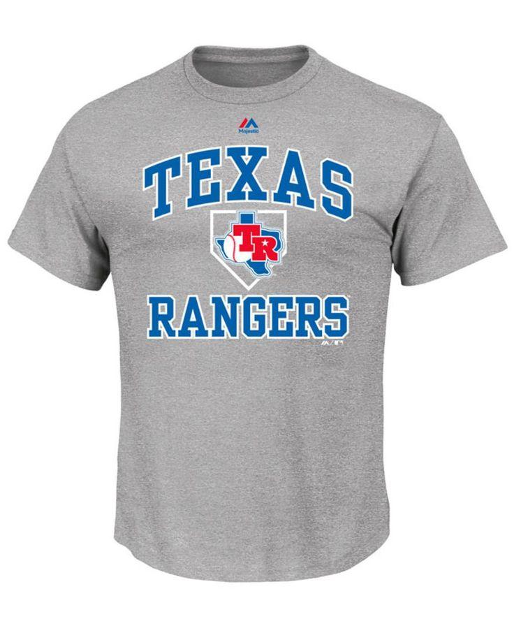 Majestic Men's Texas Rangers Hit and Run T-Shirt
