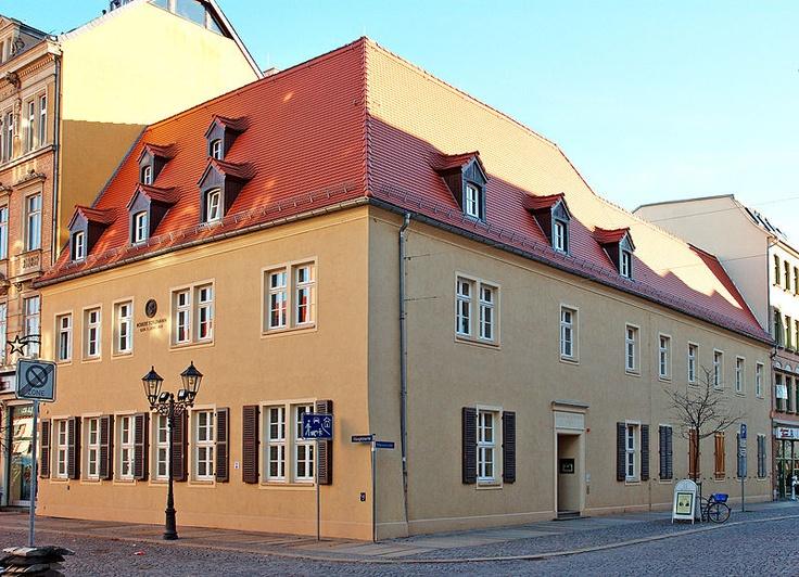 Robert Schumann's birthplace in Zwickau, Germany (1810).