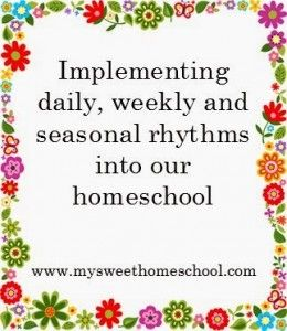 Waldorf Wednesday: Implementing daily, weekly, and seasonal rhythms