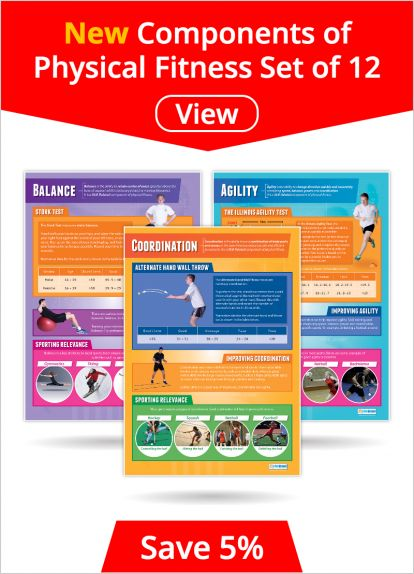 Components of Physical Fitness Set of 12