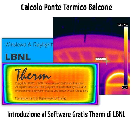 Therm è un software gratuito per il calcolo dei ponti