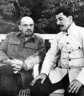 Vladimir Lenin & Stalin - Wikipedia, the free encyclopedia