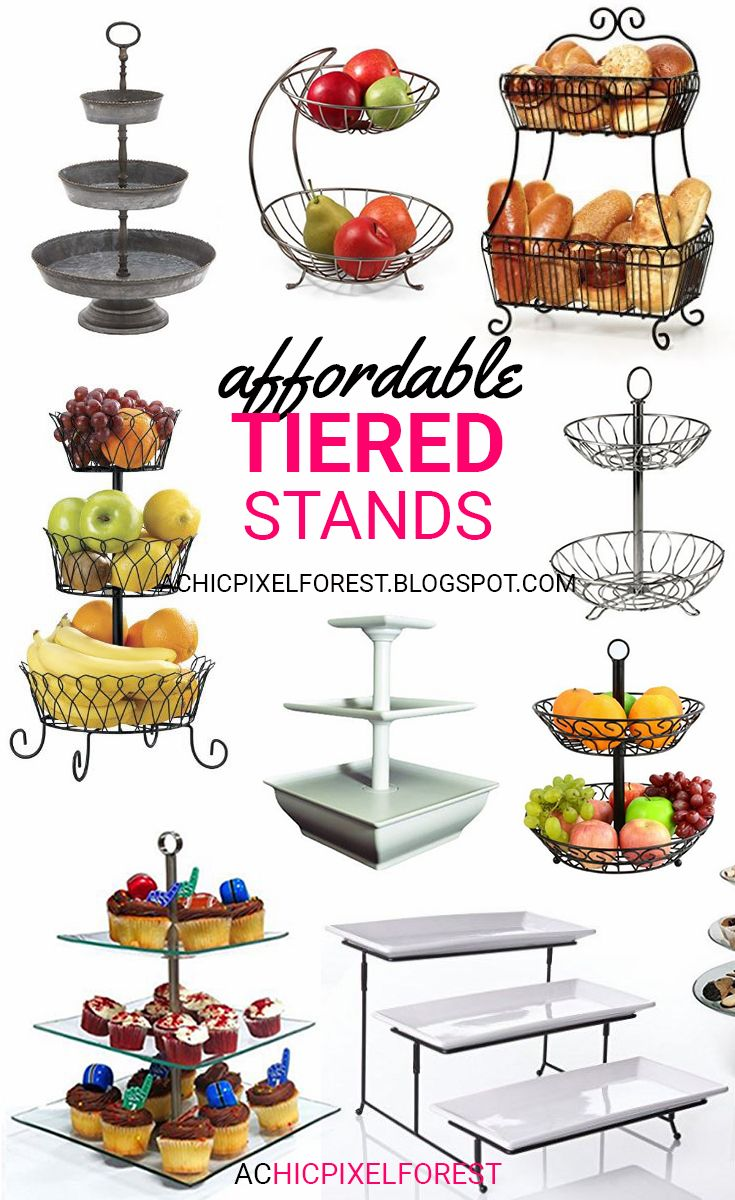Affordable Tiered Stands!