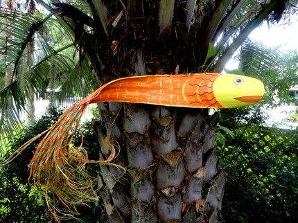 Palm frond fish.