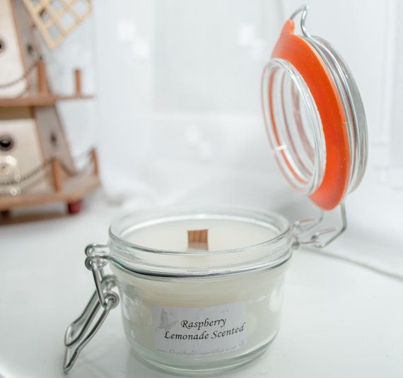 Small Kilner Crackler candle - The Christmas Edition
