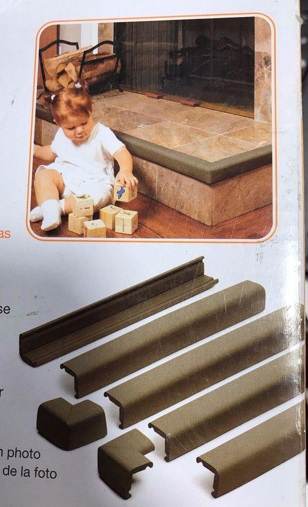 Prince Lionheart Cushiony Fireplace Guard & 2 Corners Baby Safety - 72027 #PrinceLionheart