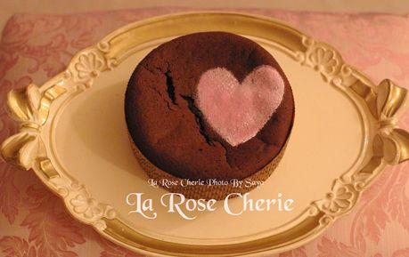 La Rose Cherie(ラ・ローズ・シェリー) デコレーション教室-バレンタインレッスン ガトー・オ・ショコラ
