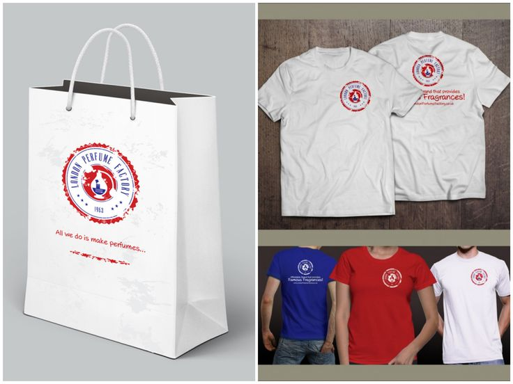 London Perfume Factory - Bag & T-shirt Design