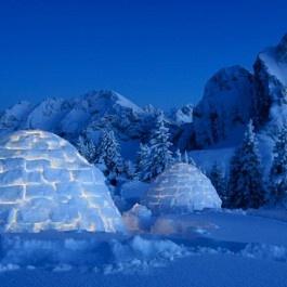 Eskimowochenende Pfronten im Allgäu - Schneeschuhwanderung und Iglu Übernachtung am Breitenberg bei Kempten! $174.99