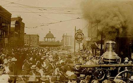 decatur illinois   ... the steamer is still going strong this scene is from decatur illinois