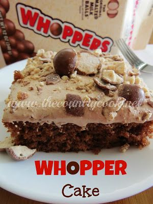 The Country Cook: Whopper Cake.....this has dad written all over it!