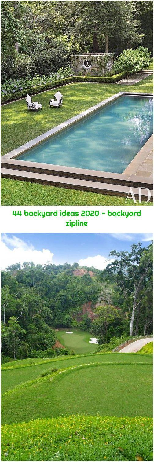 44 backyard ideas 2020 - backyard zipline in 2020   Zip ...