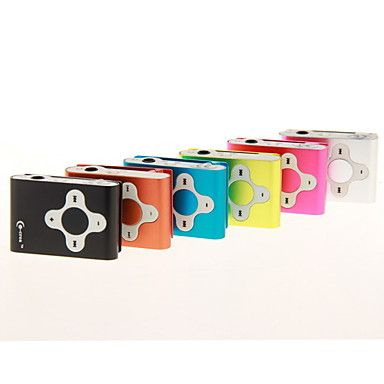 TF Card Reader MP3 Player / 6 Colors Available – USD $ 2.99
