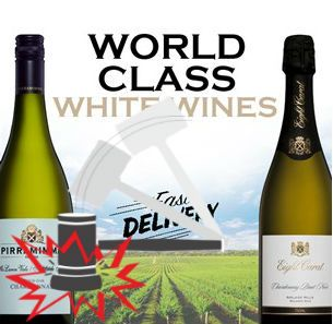 Wind Down with a White Wine: https://goo.gl/mQdkKt Auction closes from 7PM