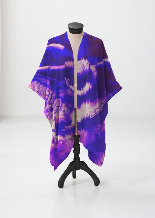 Silk Square Scarf - Fire within by VIDA VIDA oy8aiH485
