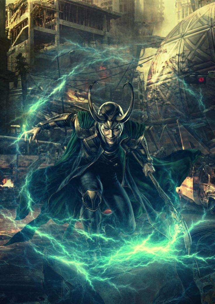 loki | Loki - Loki (Thor 2011) Fan Art (31055598) - Fanpop fanclubs