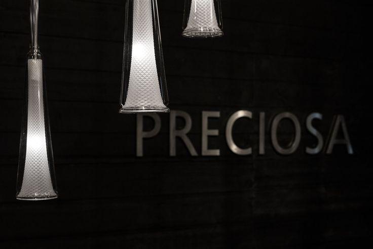 Glory celebrates the art of glass cutting, featuring the tube glass diamond cutting technique that allows reflective light to shine through all sides; a masterwork typical of PRECIOSA's Bohemian heritage. #glory #solitairescollection #jaroslavbejvl #bejvl #glassart #light #design #diamondcut #maisonetobjet #maisonetobjet15 #preciosalighting
