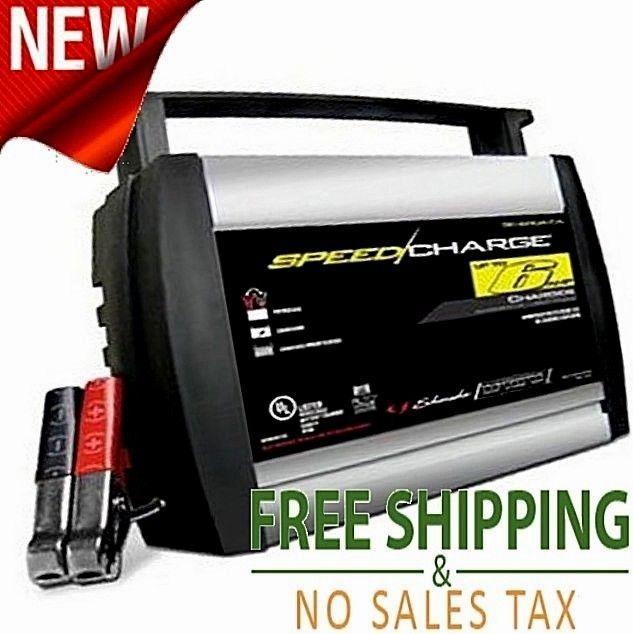 Battery Speed Charger 6V/12V batteries Schumacher Fully Automatic Auto Start 6A #Schumacher