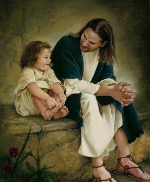 Project Inspired beautiful pictures of Jesus with children. Faith. Spirituality. Spiritual Art. I love Jesus.