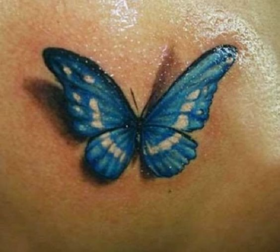 Tatuajes De Mariposas Hermosas Y Femeninas Pinterest