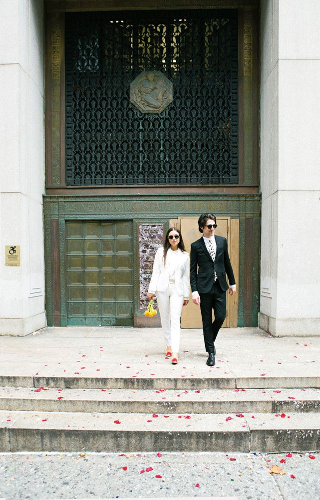 The Cool Girl's Guide to a City Hall Wedding on domino.com