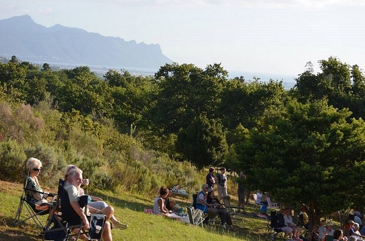 At the Helderberg Nature Reserve Summer Concert series, the highest seats have the best views.....literally! For more details about the concerts - please visit : http://www.helderbergnaturereserve.co.za/events/concerts/  #FriendsofHelderbergNatureReserve #Helderberg #SummerConcerts #SomersetWest