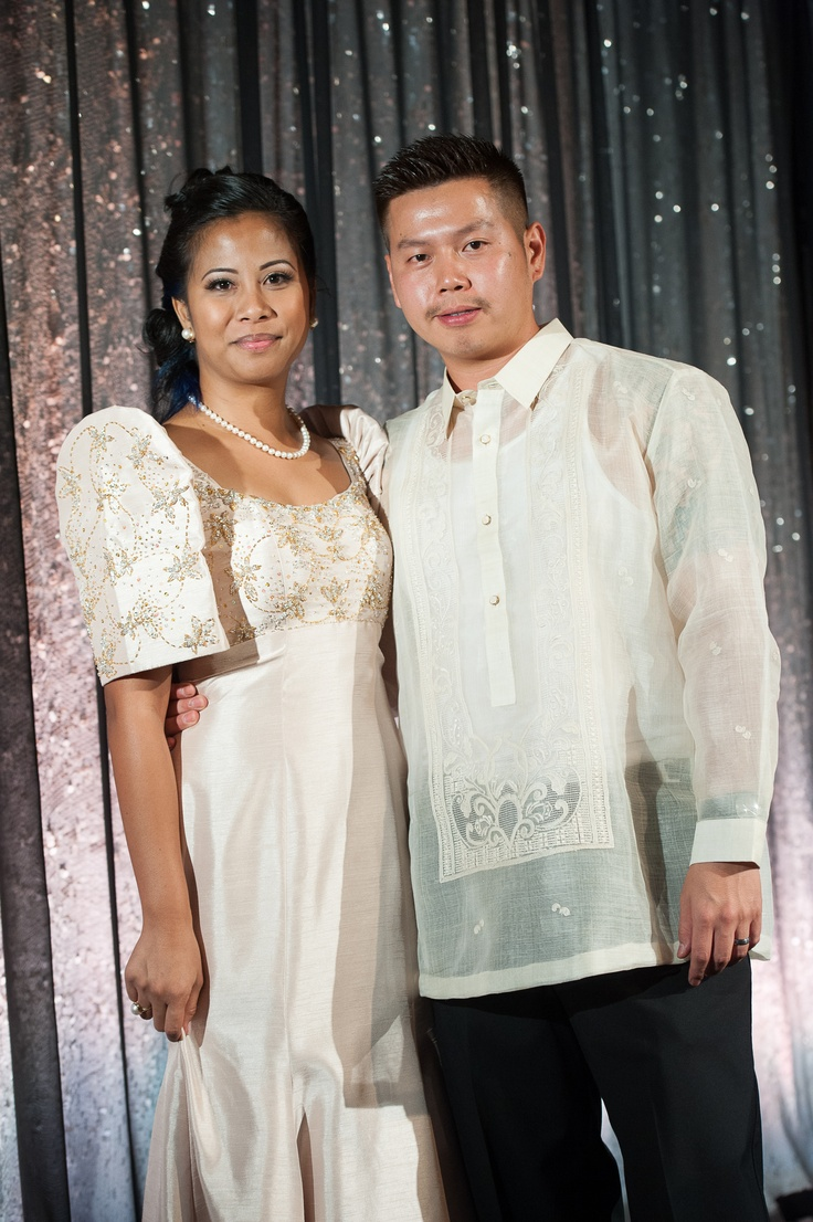 When A Special Event Arrives In The Philippine Culture There Is A Certain Attire Many People
