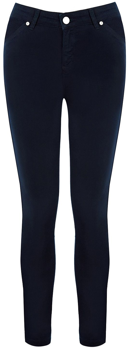 Womens navy trousers from Oasis - £40 at ClothingByColour.com