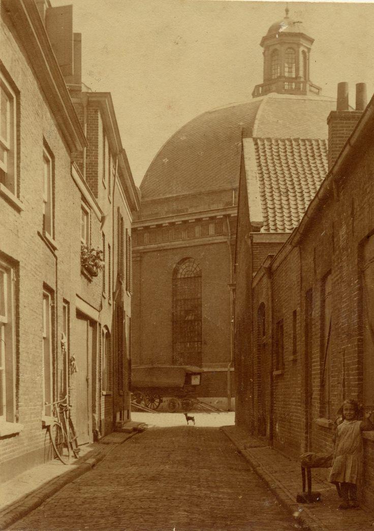 Arnhem, Janssteeg 1900-1910.