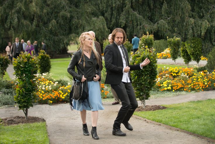'Ricki and the Flash' | August 7  A fading rock musician who chased stardom at the expense of her family tries to reconnect with her daughter, who has been devastated by her failed marriage. With Meryl Streep, Kevin Kline and Mamie Gummer. Written by Diablo Cody. Directed by Jonathan Demme. TriStar Pictures  http://www.latimes.com/entertainment/movies/la-et-mn-august-movie-sneaks-20150422-006-photo.html