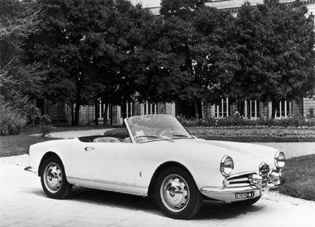 Giulietta Spider 1955.