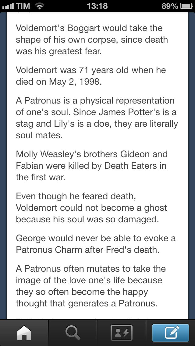 Harry Potter facts- Man I really wish I knew what my patronus would be