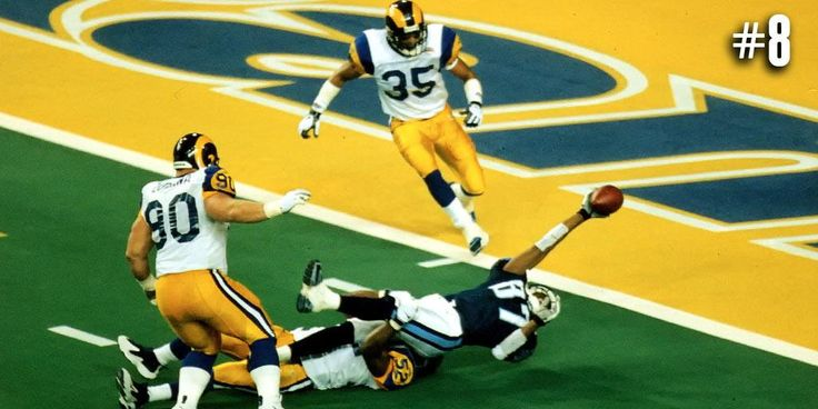 """Top 10 Super Bowl Finishes  10. #SB25: Scott Norwood missed FG 9. #SB32: """"The Helicopter"""" 8-1. http://at.nfl.com/Ivy8Ap1"""